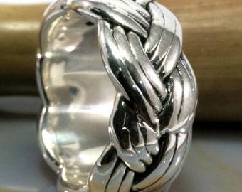 Ring, 925 sterling silver, electroforming - 3013