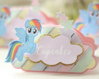 My Little Pony Tent Cards