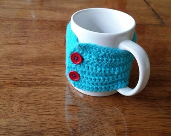 Mug Cozy, Crochet Mug Cozy, Handmade