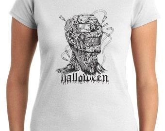 T-shirt T0352 zombie HALLOWEEN festivities