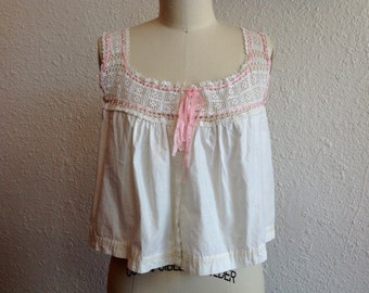 Edwardian cotton camisole