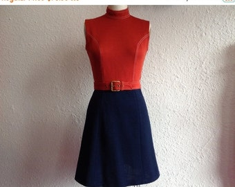 SALE 1960s Jonathan Logan mod dress with matching jacket