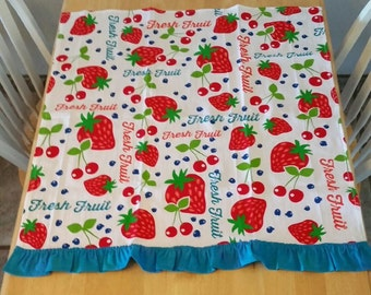 Fresh & Fruity Bright Tea Towel