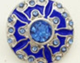 20MM Gemstone Snap Button