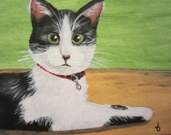 Custom Pet Painting, Original Acrylic