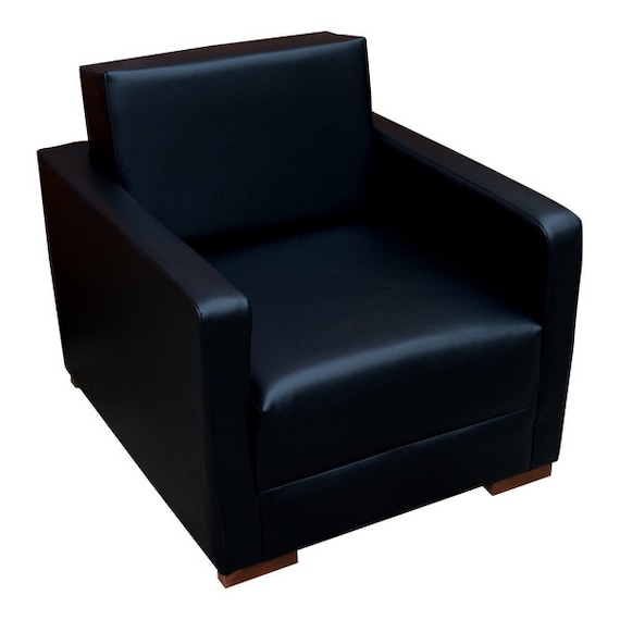 Urban retro low sitting flip out chair bed upholstered in a - Low sitting bed frame ...