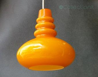 Suspension orange vintage - mid century orange during