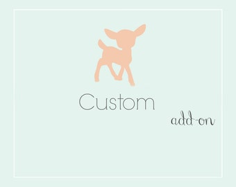 Custom Paint Design and/or Additional Color Add-on