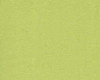 Bella Solids Pistachio from Moda by the yard