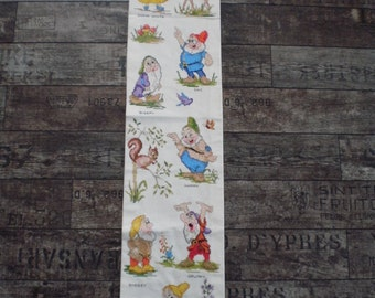 Snowwhite embroidered wall hanging, Walt Disney