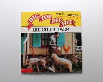 Vintage Big Top Pee Wee: Life on the Farm 1988