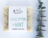 Eucalyptus+Mint Handmade Vegan Soap