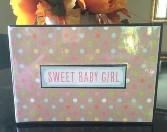 Sweet Baby Girl Photo Album