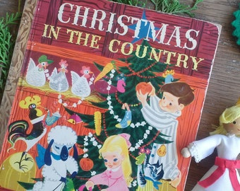 Christmas In The Country. 1950. A Little Golden Book