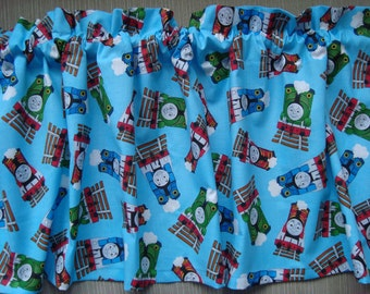 """Thomas the Train and Friends Valance 42 1/2"""" x 13"""""""