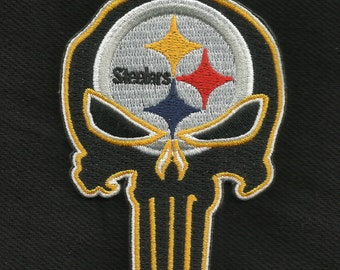 Steelers Punisher Skull Collectors Patch