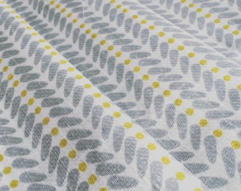 Lined Curtains- Yellow and Grey- Made to Measure Curtains- Linen Curtains- Hand Finished Curtains- Bespoke Curtains- Scandinavian Curtains