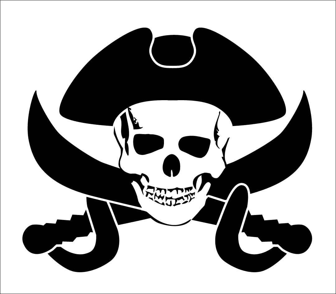 пират с флагом картинка мозаики