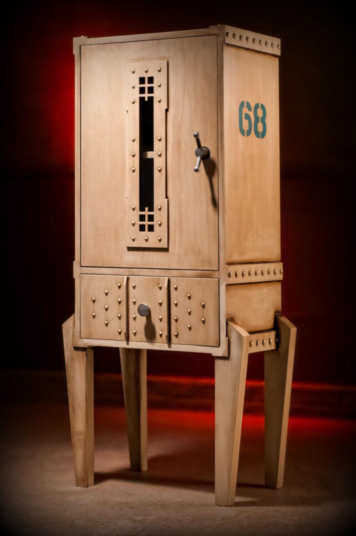 Man Cave Industrial Furniture : Industrial furniture steampunk man cave