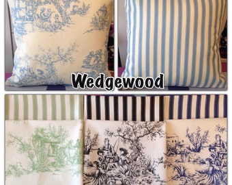 Toile du jouy cushion covers New