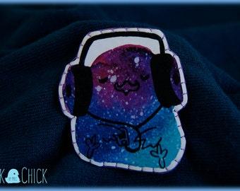 FantasticMusic Galaxy chick brooch