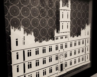 Downton Abbey Paper Cut Template (PERSONAL Use Only) PDF Digital Download