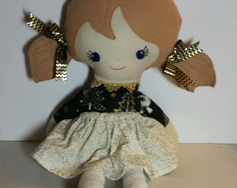 Soft doll, fabric doll
