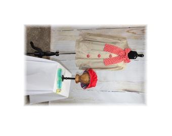 Vintage Clown Costume--Small-Medium (H40)