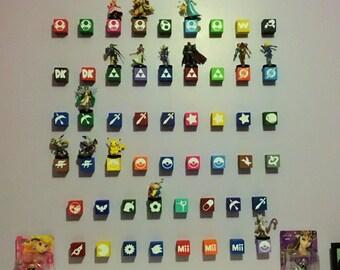 Amiibo Floating Block Display Shelves