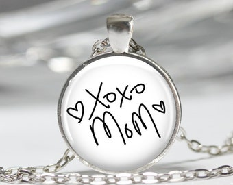 YOUR LOVED ONE'S handwriting personalized custom pendant necklace or keychain