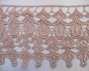 lace, cotton lace. hand dyed lace. vintage lace.