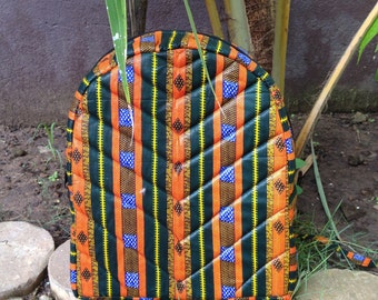 African Wax Zussu Backpack KIDS 'Birthday Behaviour'