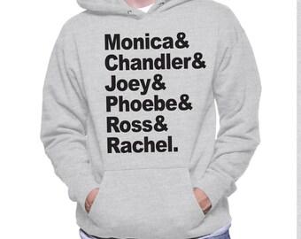 Friends tribute hoodie -Friends honor roll Shirt - hoodie Mens Ladies Womens Youth Kids
