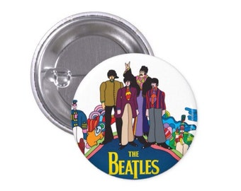 The Beatles Pinback Button 1""