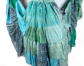 SKIRT large size Gypsy flamenco gypsy boho bobo Bohemian 38/44 ajf13 Andalusia