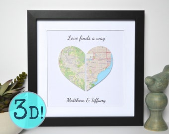 Valentines Gift For Long Distance Relationship- Valentines Day Gift, Valentine Gift for Boyfriend, Valentine Gift for Girlfriend, Heart Gift