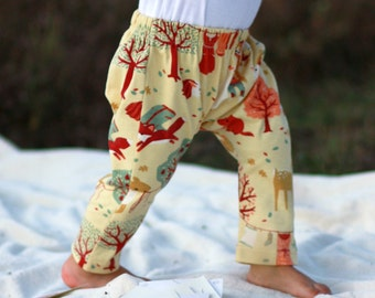 Organic Cotton Knit. Baby harem pants. Baby pants harem. Knitted cotton. Natural cotton trousers. Knit cotton harems