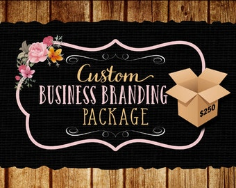 Custom business branding package created for Aly
