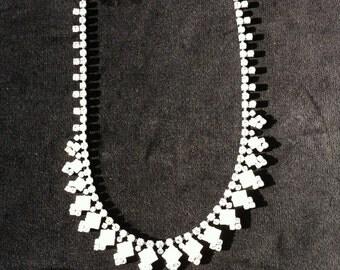 Diamante' Pearl Necklace
