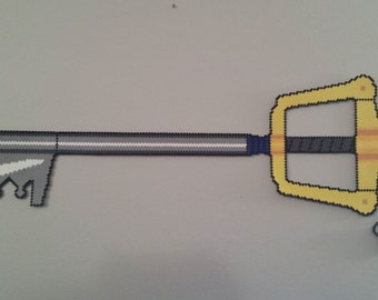 Kingdom Hearts Keyblade - Perler