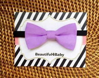 Lavender Little Boy Bow Tie, Lavender Baby Bow Tie, Lavender Toddler Bow Tie,Infant Bow Tie, Toddler Bow Ties, Baby Bow Ties,