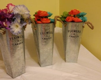 Flower and garden arrangements