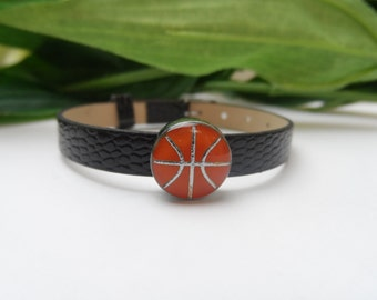 Boys Basket Ball bracelet, boys bracelet, kids bracelets, boys birthday gifts, basket ball boys bracelets