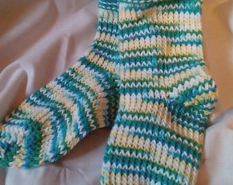 Coton 100% knitted socks