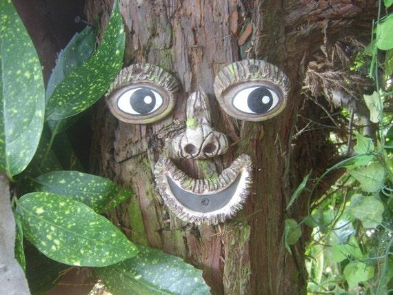 Tree Face A Handmade Garden Ornament Sculpture Statue