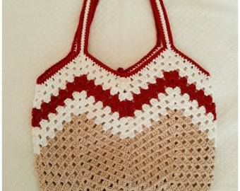 Crochet Purse, Crochet Bag, Crochet Shoulder Bag, Handbag,Gift for Her