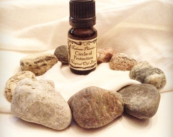Circle of Protection Magic Spell Oil