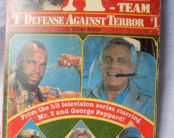 The A-Team #1 Defense Against Terror Plot It Yourself paperback book