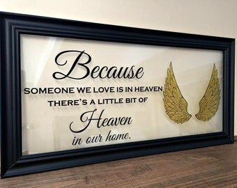 Sympathy Gift, In Memory Of, In Memory of Dad, Angel Wings, Condolence Gift, In Memory of Sympathy Gift, Sympathy Gift Mother