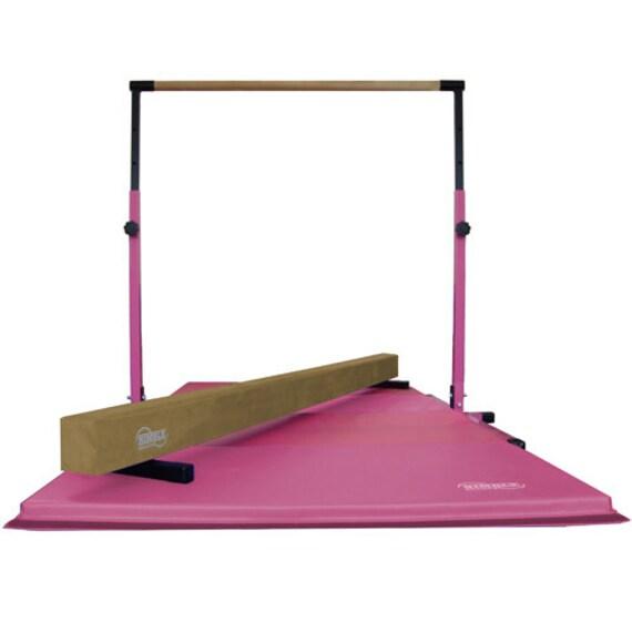 3 Piece Little Gym Equipment Set Adjustable By Nimblesports